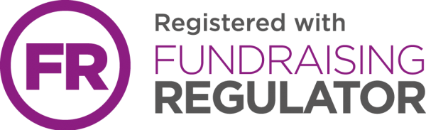 Registered with the Fundraising Regulator