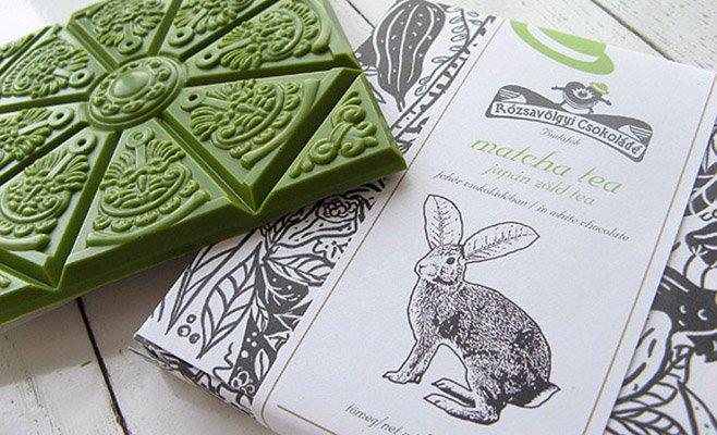 Rózsavölgyi Csokoládé – Matcha Tea