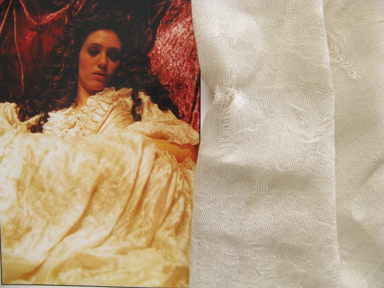 Phantom of the Opera costume textiles