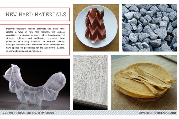 Stylesight - Hard Materials trend report for 2013