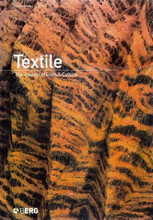 Textile: The Journal of Cloth & Culture (March 2008) - Front cover