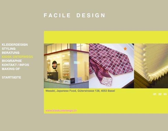 Facile Design (November 2007) - Featured