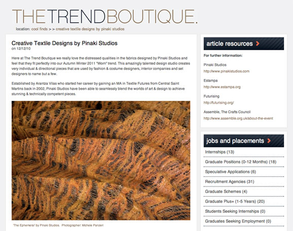 The Trend Boutique (2011) - Feature