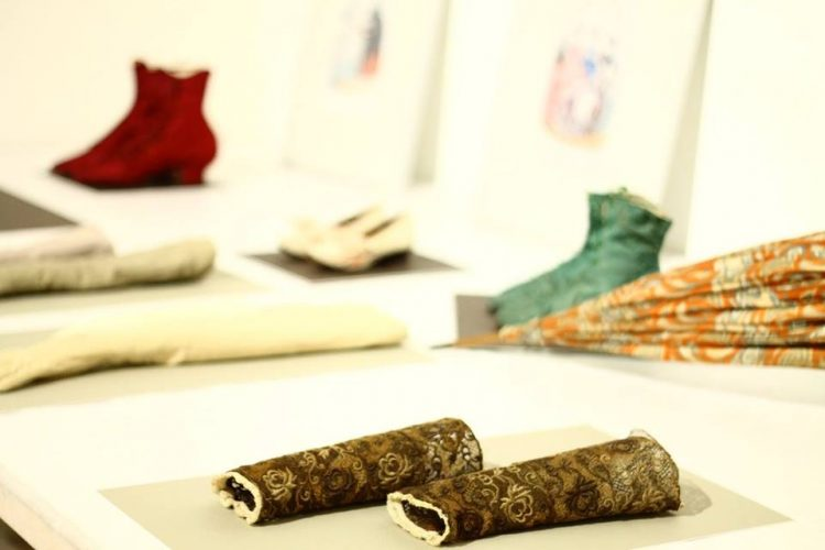 Textile collection of the archives in the Museo de Pontevedra