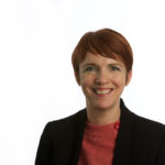 Image shows a close up photo of Jacqui McKinlay